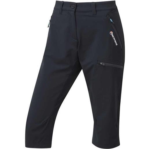 Montane pantaloni 3/4 dyno stretch capri 34 black