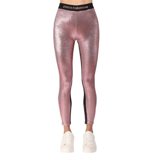 PACO RABANNE leggings in jersey stretch
