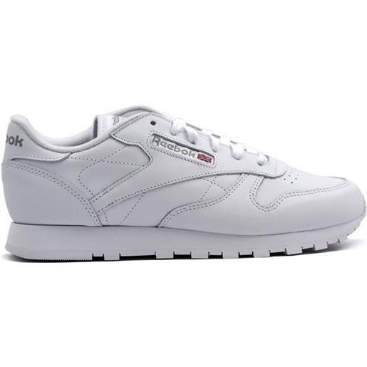 REEBOK sneaker classic leather donna bianco