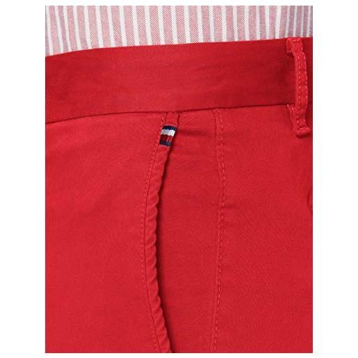 Tommy Hilfiger uomo, pantaloni, denton th flex satin chino gmd, faded indigo, w29 / l36
