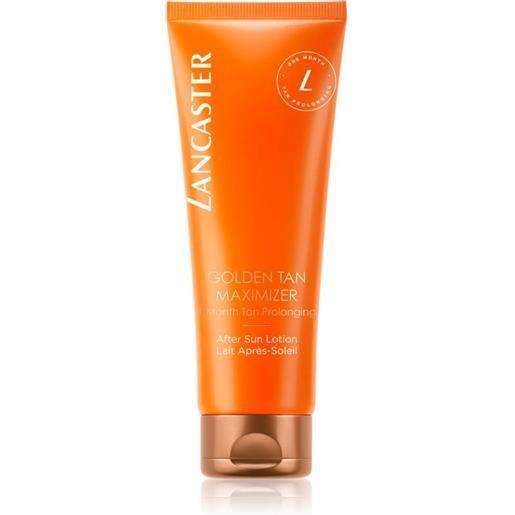 Lancaster golden tan maximizer after sun lotion 125 ml
