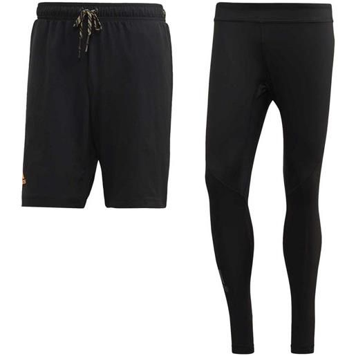 Adidas pantaloni corti 2 in 1 s black