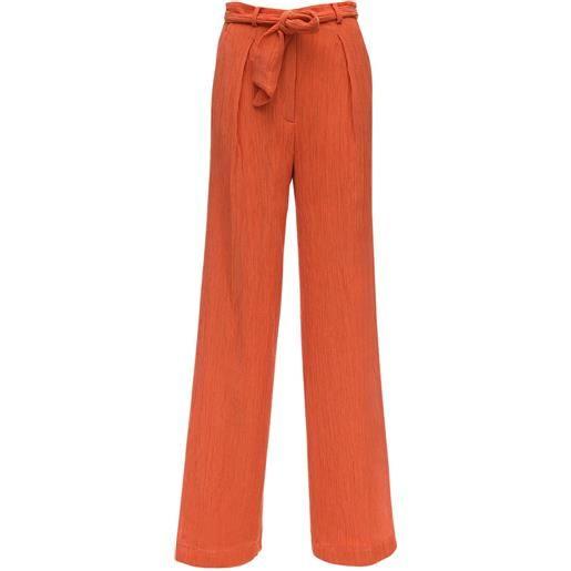 GABRIELA HEARST pantaloni lvr sustainable in crepe di cotone