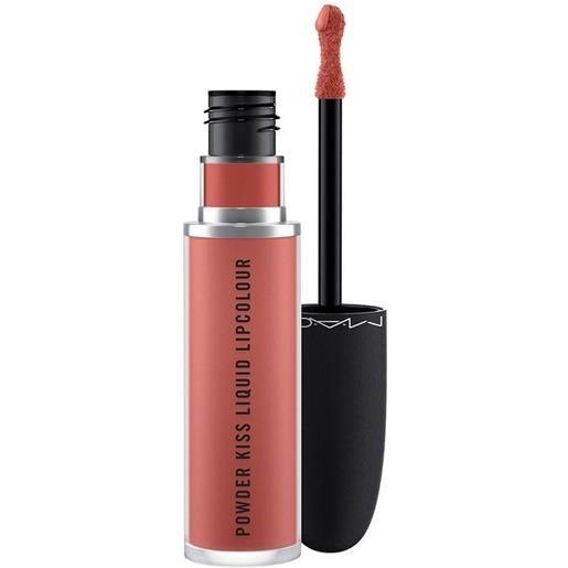 MAC mull it over powder kiss liquid lipcolour rossetto 5ml