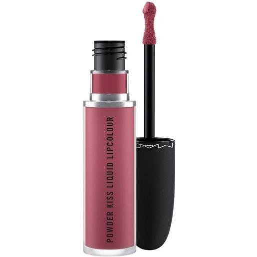 MAC more the mehr-ier powder kiss liquid lipcolour rossetto 5ml
