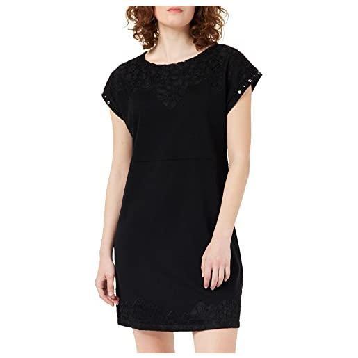 Desigual vest_banquet vestito, nero (negro 2000), x-large donna