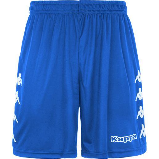 Kappa curchet short 904 royal pantaloncino adulto azzurro