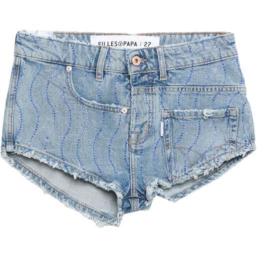 FAP FILLES A PAPA - shorts jeans