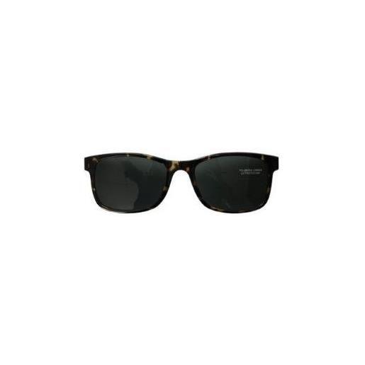 Atene sun clip on tartaruga occhiali da sole