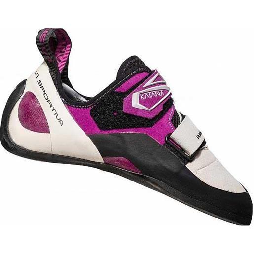 La Sportiva scarpette arrampicata katana eu 34 white / purple