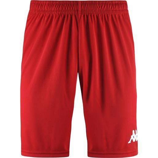 Kappa 4soccer wusis short red pantaloncino adulto