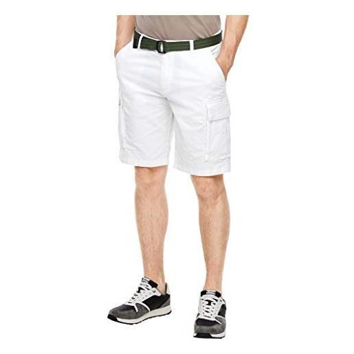 s.Oliver pantaloncini bermuda, 0100white, 31 uomo
