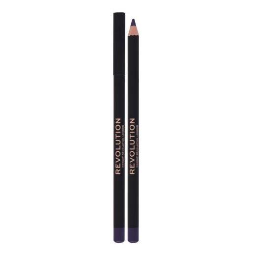 Makeup Revolution London kohl eyeliner matita per occhi con una pigmentazione alta 1,3 g tonalità purple