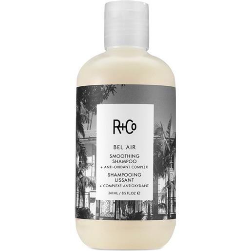 R+CO bel air smoothing shampoo + anti-oxidant complex - shampoo lisciante 241 ml
