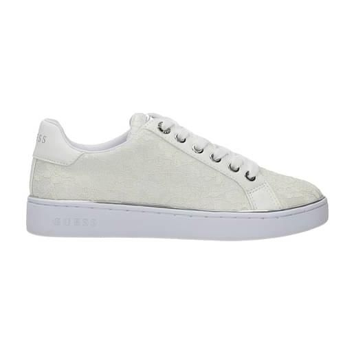 Guess sneakers donna tessuto beige 40