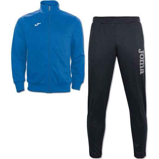 Gladiator combi gala 5 joma tuta allenamento training caviglia stretta uomo -azzurro nero id. Grid: 4772 , code: 8011.12 100086 color: azzurro nero