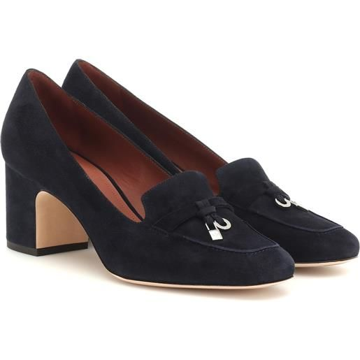 Loro Piana pumps my charms in suede
