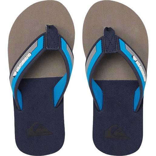 Quiksilver sandals molokai eclipsed deluxe yth infradito ragazzo
