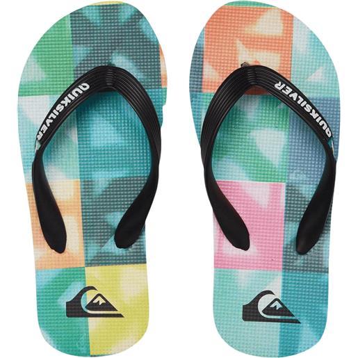 Quiksilver sandals molokai dye ckeck yth infradito bambino