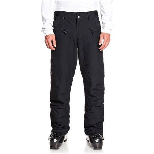Quiksilver pantaloni boundry s true black