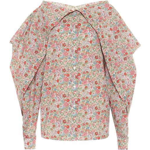 Y/PROJECT blusa a stampa floreale in cotone