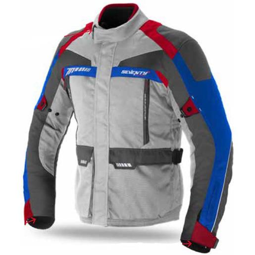 Seventy Degrees giacca sd-jt43 xxxxl ice / red / blue