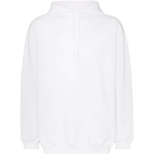 Balenciaga felpa con stampa - bianco