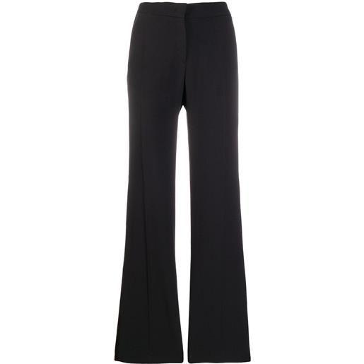 Nº21 pantaloni sartoriali svasati - nero