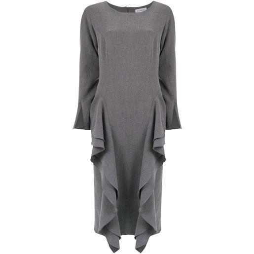 Olympiah vestito midi chipre - grigio