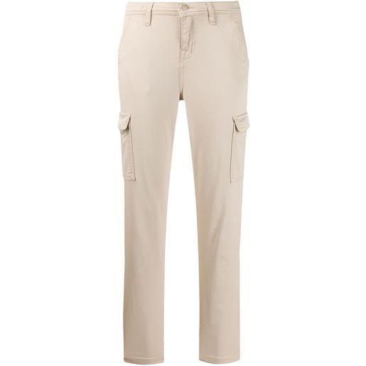7 For All Mankind pantaloni slim crop - toni neutri