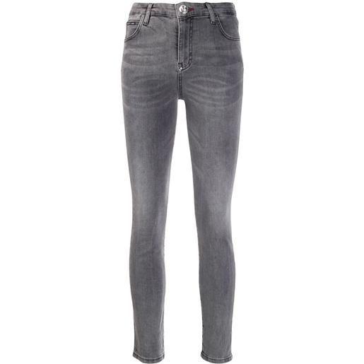 Philipp Plein jeans slim original - grigio