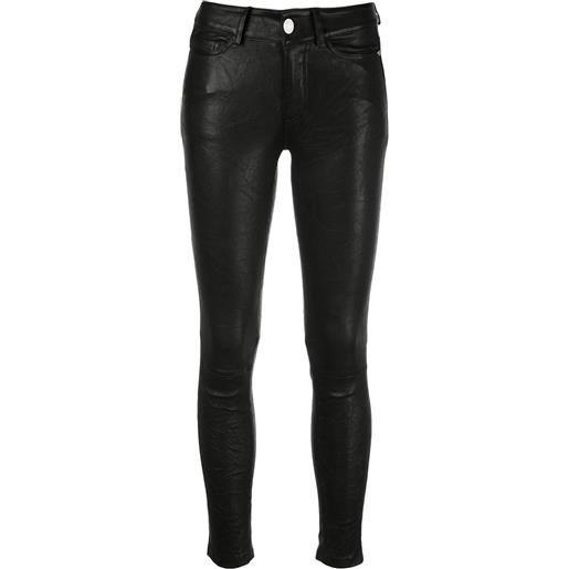 Zadig&Voltaire pantaloni skinny phlame - nero