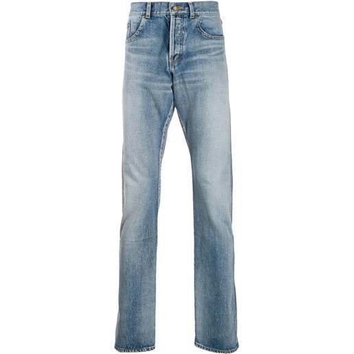 Saint Laurent jeans dritti - blu