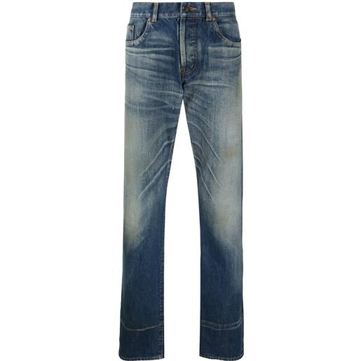 Saint Laurent jeans taglio straight - blu