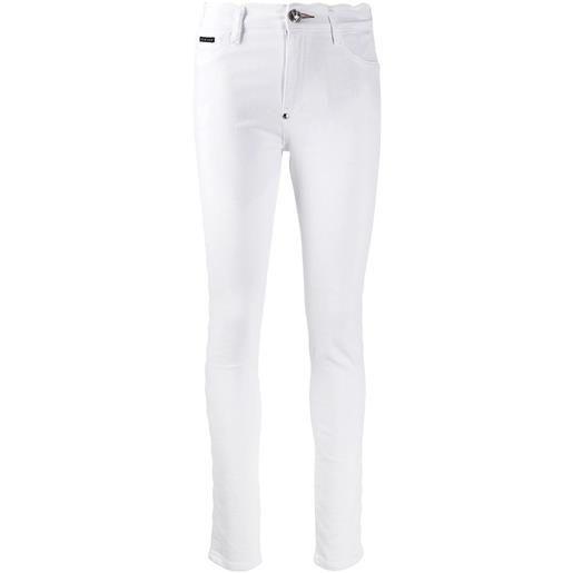 Philipp Plein jeans statement skinny - bianco