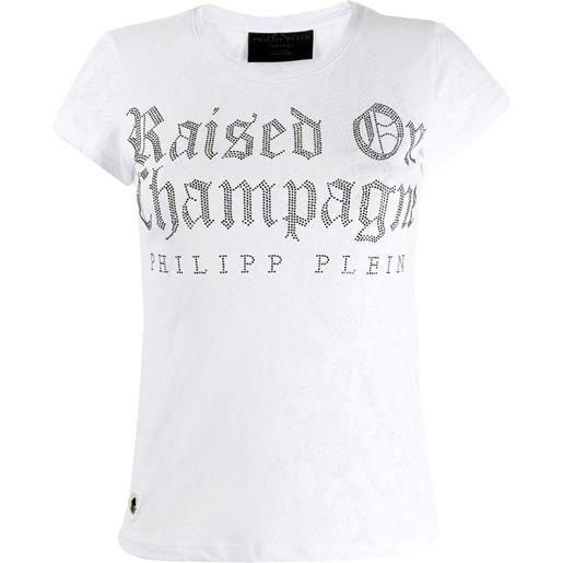 Philipp Plein t-shirt mm gothic - bianco