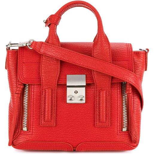 3.1 Phillip Lim borsa a tracolla pashli mini - rosso