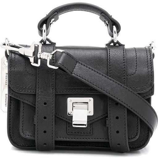 Proenza Schouler borsa ps1 mini - nero