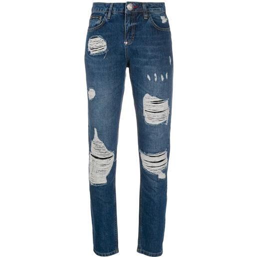 Philipp Plein jeans slim - blu