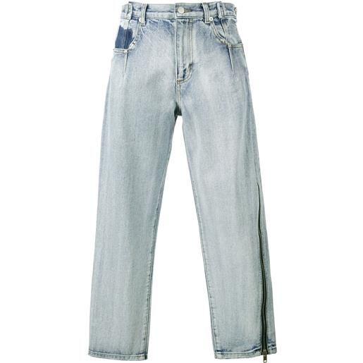 3.1 Phillip Lim pantaloni crop - blu