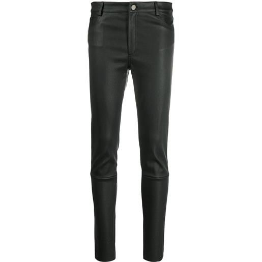 Drome mid-rise slim-cut trousers - nero