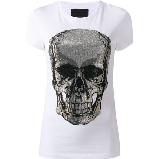 Philipp Plein t-shirt con stampa - bianco