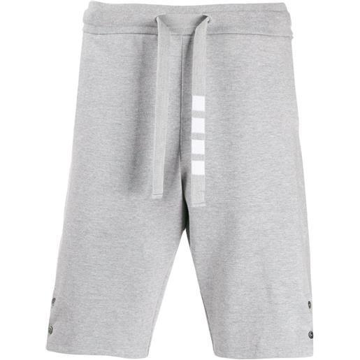Thom Browne shorts sportivi - grigio
