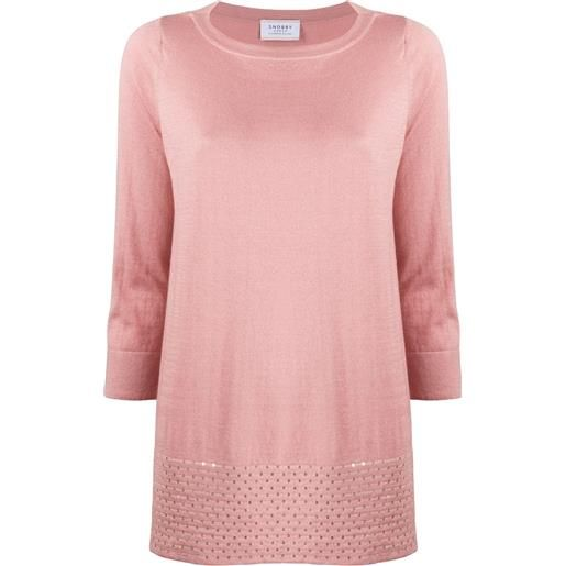 Snobby Sheep top taglio comodo - rosa