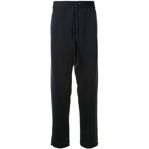 3.1 Phillip Lim pantaloni sportivi con bande laterali - blu