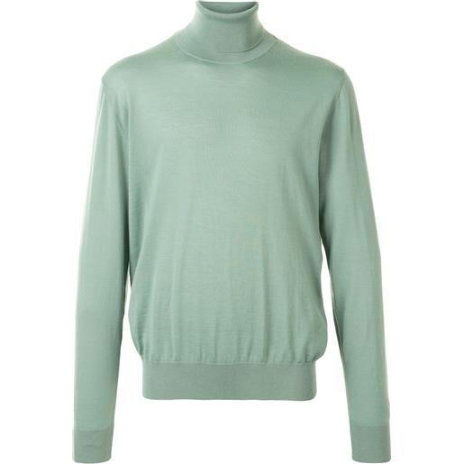 Dolce & Gabbana maglione a collo alto - verde