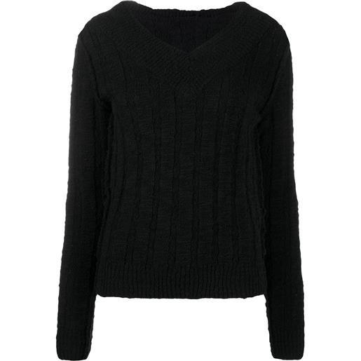 Dolce & Gabbana maglione con scollo a v - nero