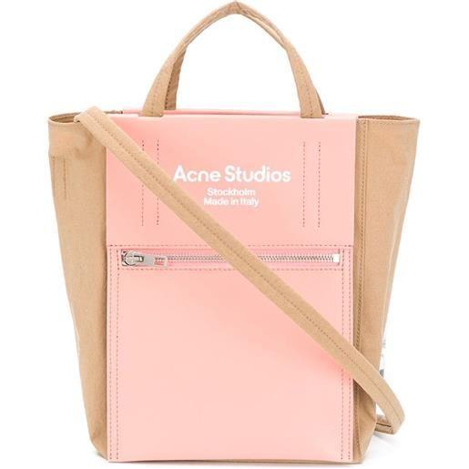 Acne Studios borsa tote con stampa - rosa