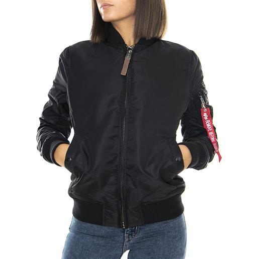 ALPHA INDUSTRIES wm ma-1 vf 59 - black - giacca invernale donna nera