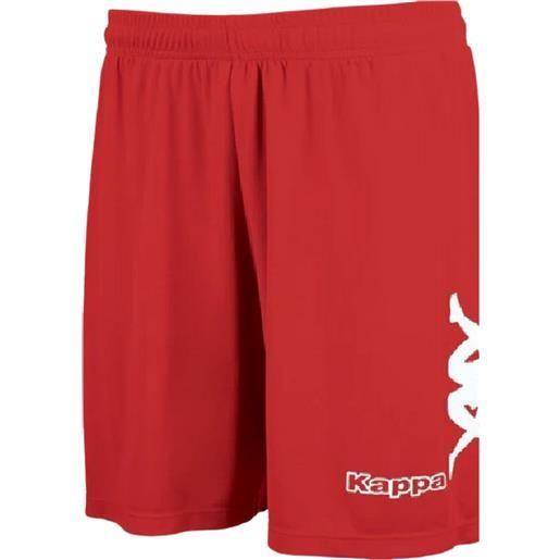 Kappa talbino short red/white pantaloncino adulto
